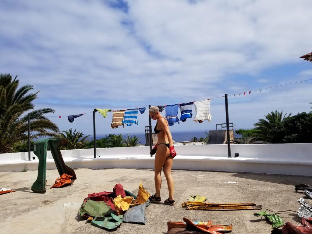 Kennedy Yanko en Tenerife 2018